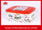 Hello Kitty CMYK Printed Tin Boxes Container Gifts Packaging Metal Tinplate Custom